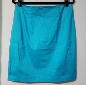 Lovely Worthington Caribbean blue pencil skirt, 14